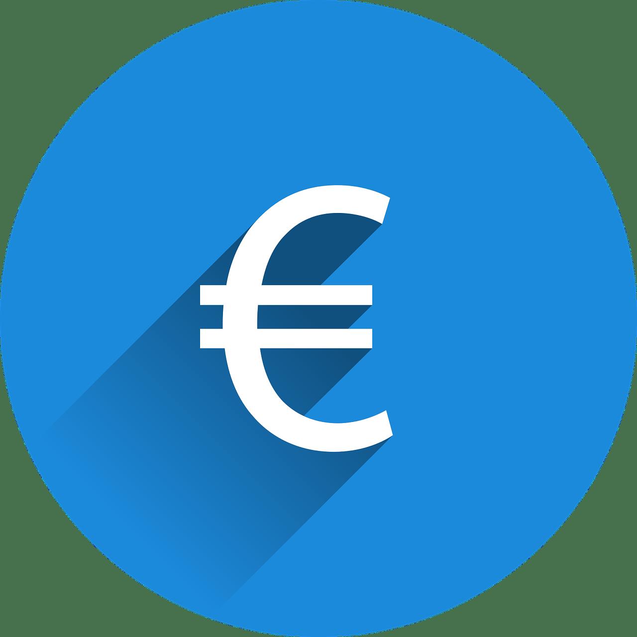 Symbol euro – ilustračný