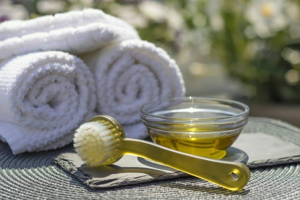 Masážny olivový olej