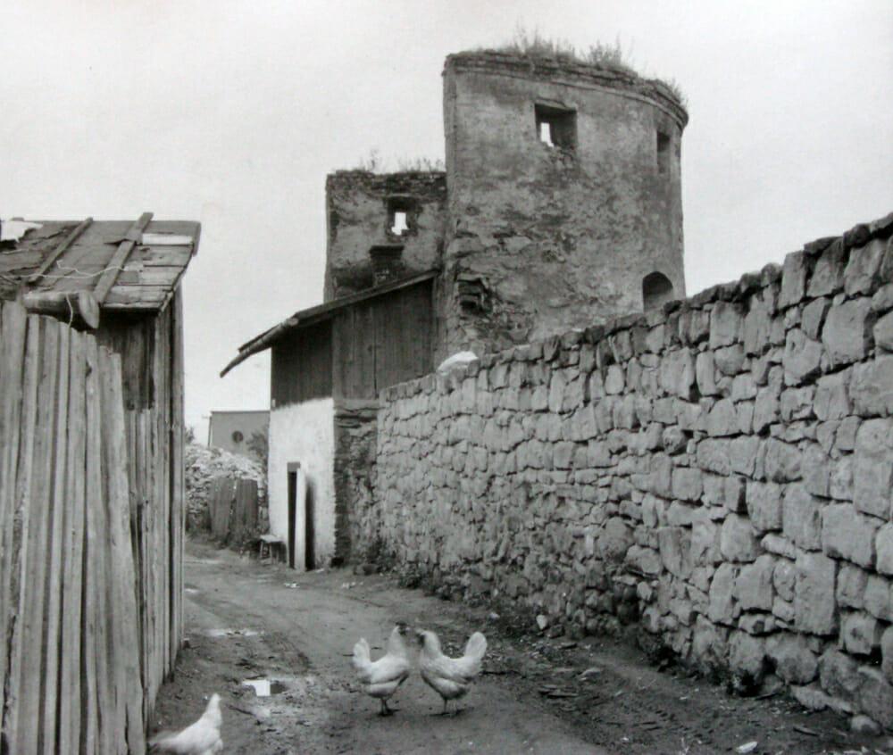 Červená Bašta, historická fotografia z 60-tych rokov 20. storočia