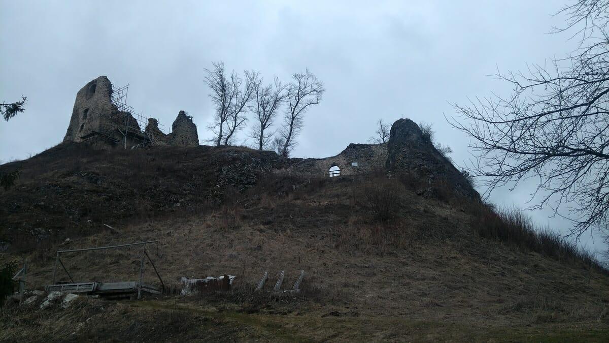 Hradné bralo Hanigovského hradu