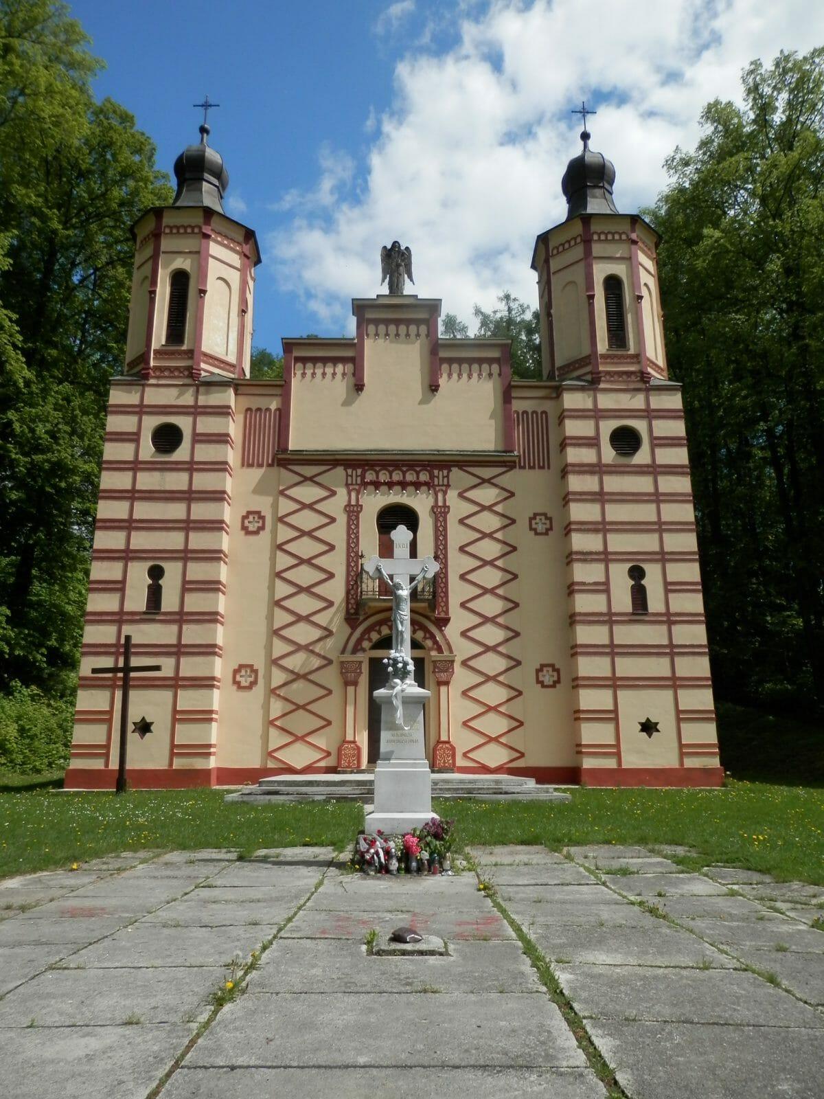 Kalvária v Bardejove – kostol sv. Kríža