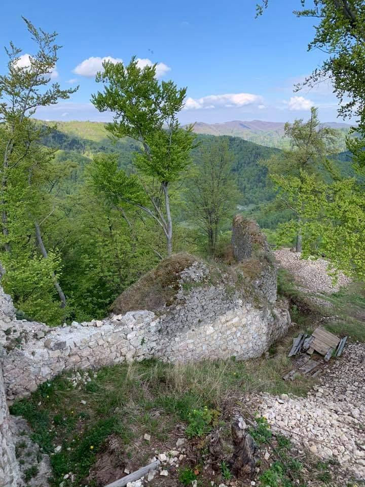 Výhľad z Hanigovského hradu