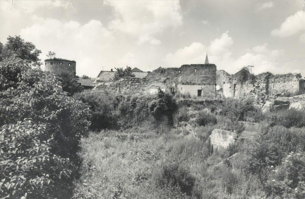 Mestské opevnenie Bardejova v ruinách
