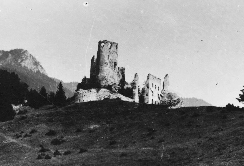 Historická fotografia hradu