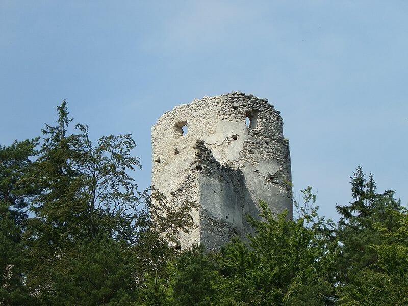 Západná veža hradu