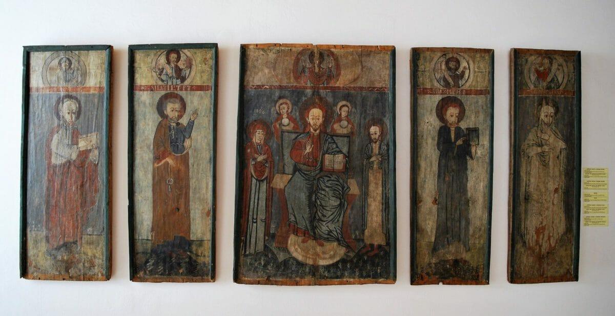 Ikony – Šarišské múzeum v Bardejove, expozícia Ikon