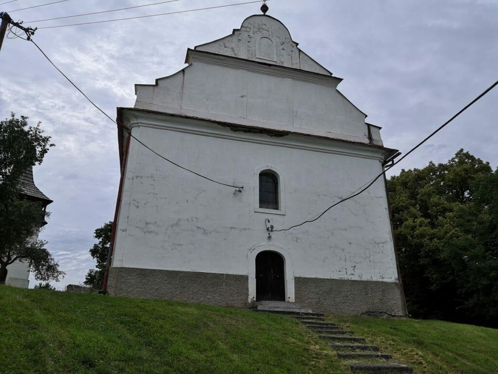 Evanjelický kostol v Drienčanoch