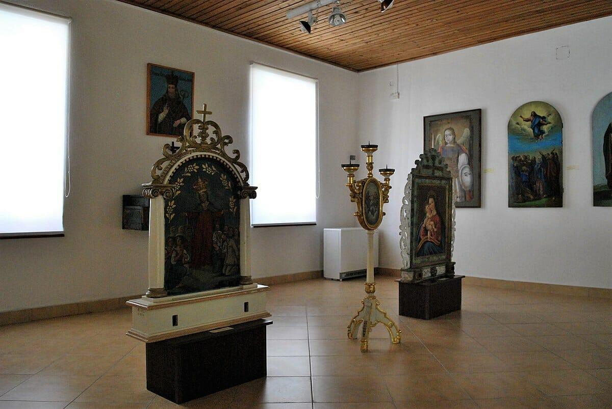 Interiér Šarišského múzea v Bardejove