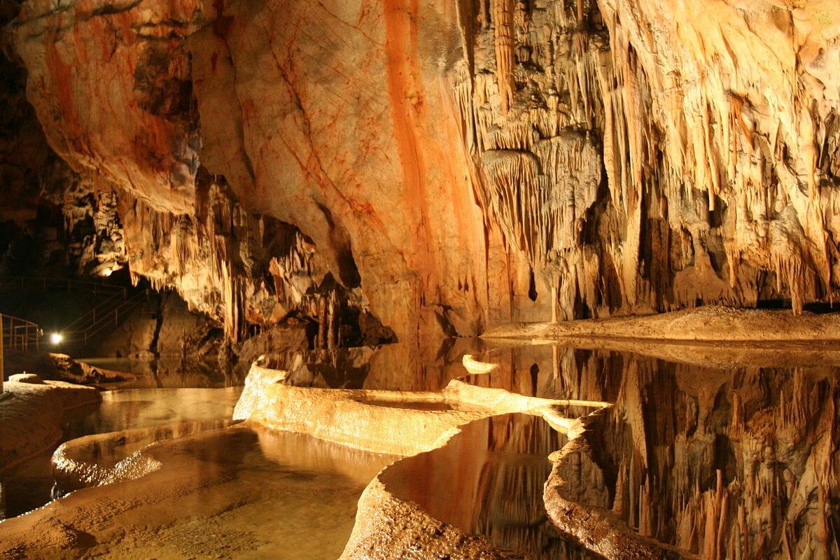 Rímske kúpele v jaskyni Domica