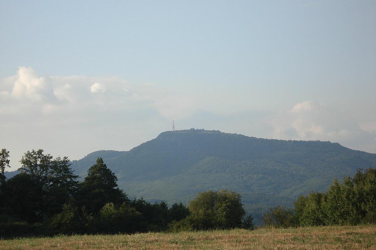 Sitno, najvyšší vrch Štiavnických vrchov