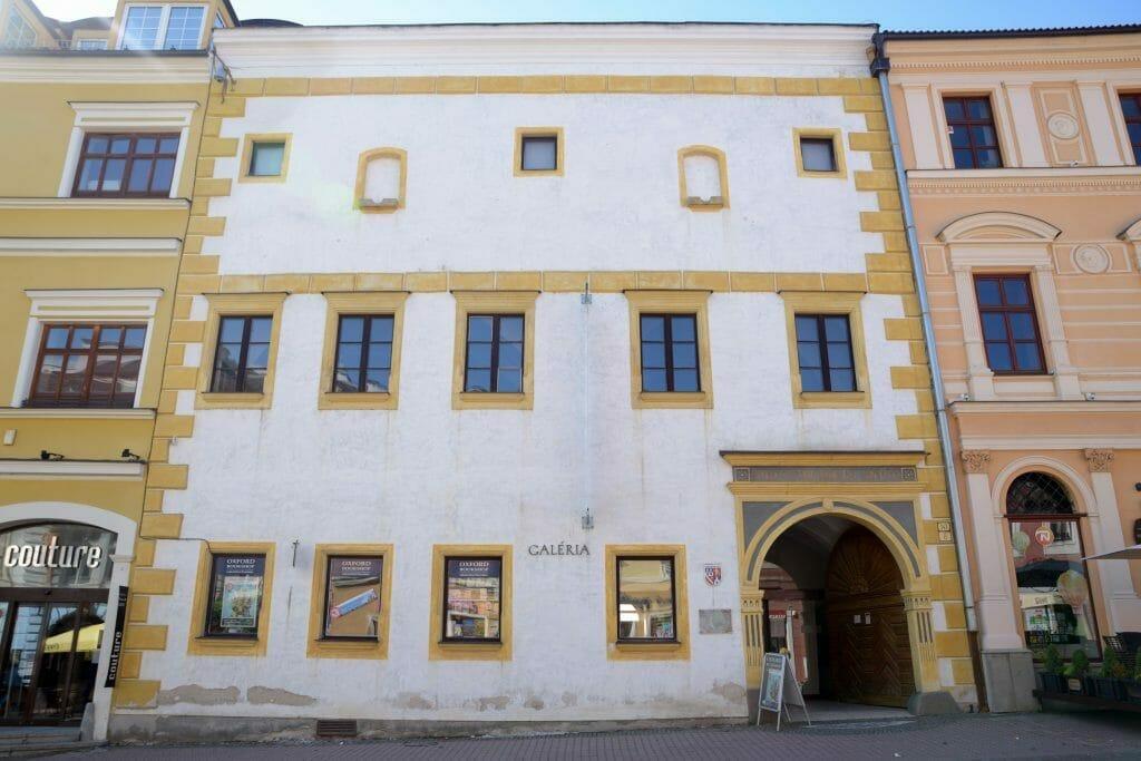 bethlenov dom – Stredoslovenská galéria