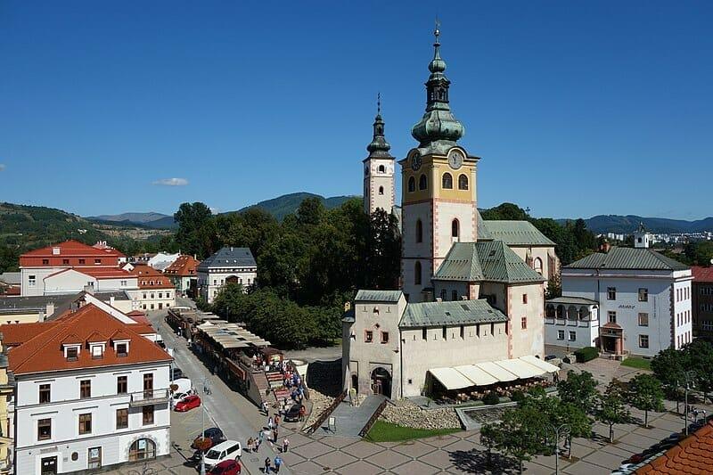 Mestský hrad v Banskej Bystrici ako súbor stavieb