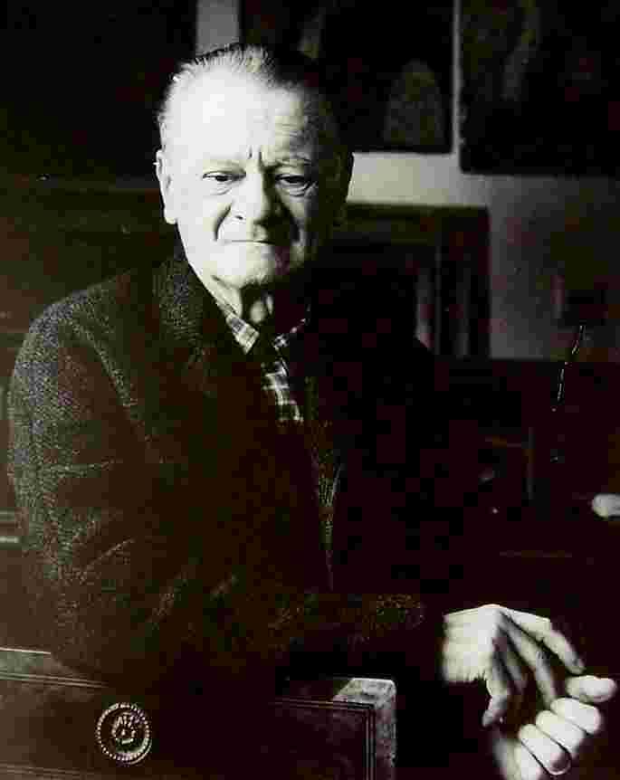 Miloš Alexander Bazovský na fotografii