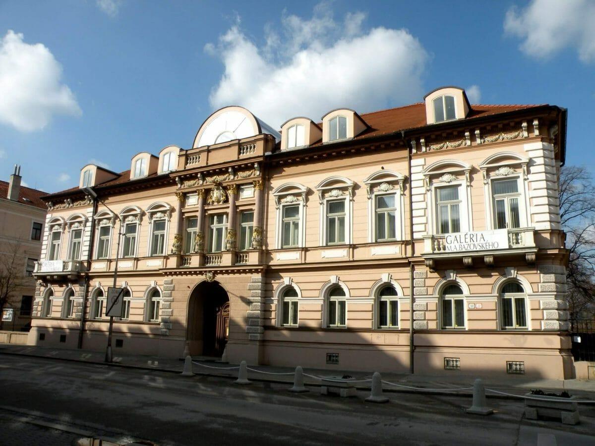 Budova Galérie M. A. Bazovského v Trenčíne