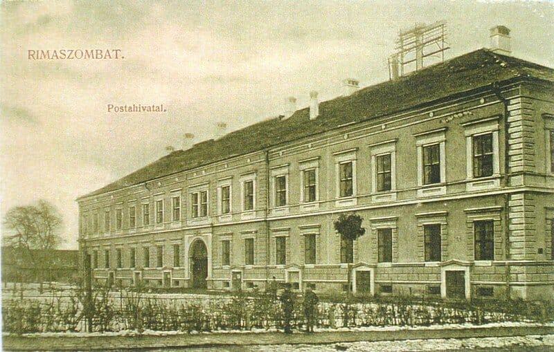 Múzeum na dobovej pohľadnici