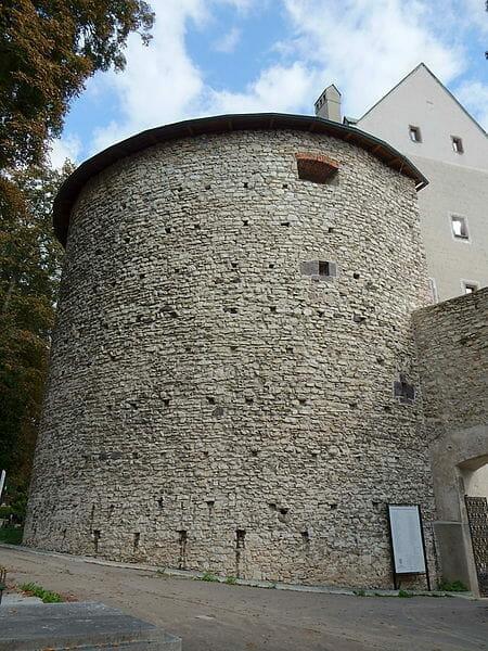 Banícka bašta v areály Mestského hradu Banská Bystrica