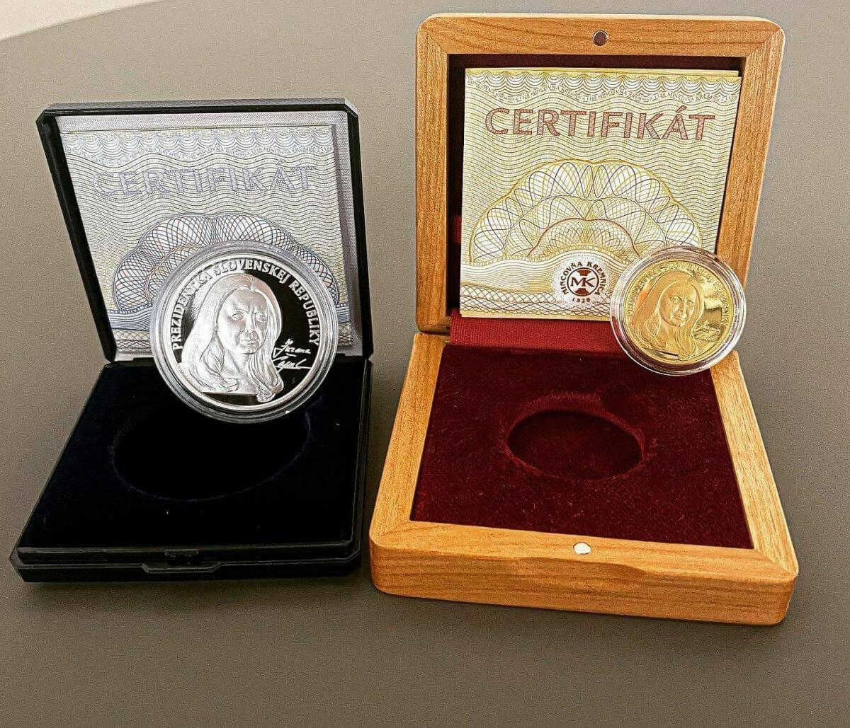 Zlatá medaila prezidentky SR Zuzany Čaputovej