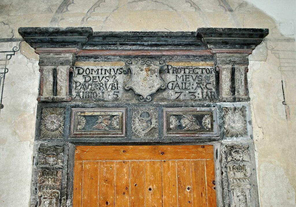 Renesančný portál zo 16. storočia