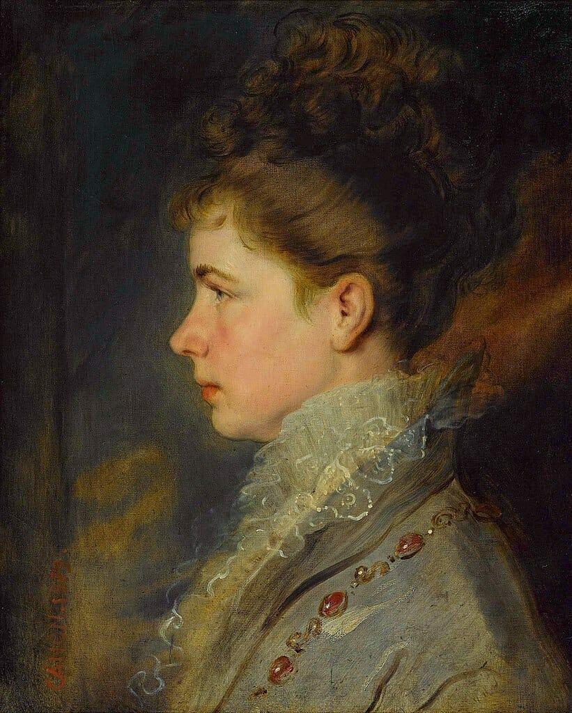 Gizela Habsburská, autor Hans Canon