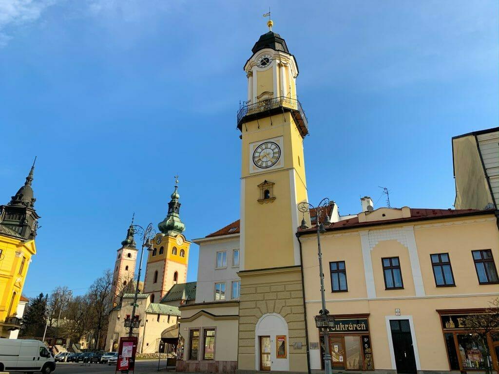 Hodinová veža v Banskeh Bystrici