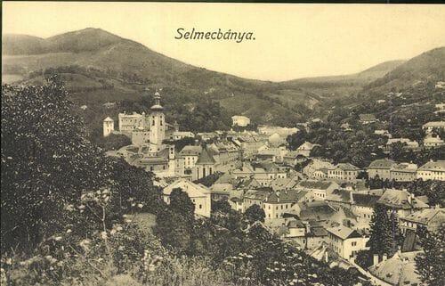Banská Štiavnica na historickej fotografii