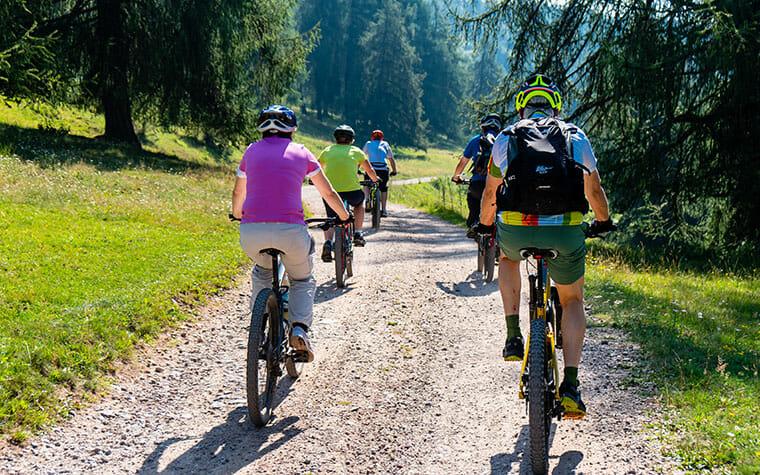 Cyklistika v okolí Brusna