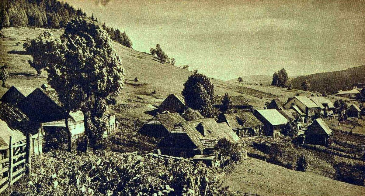 Historická fotografia Donovaly-Mišúty, rok 1934