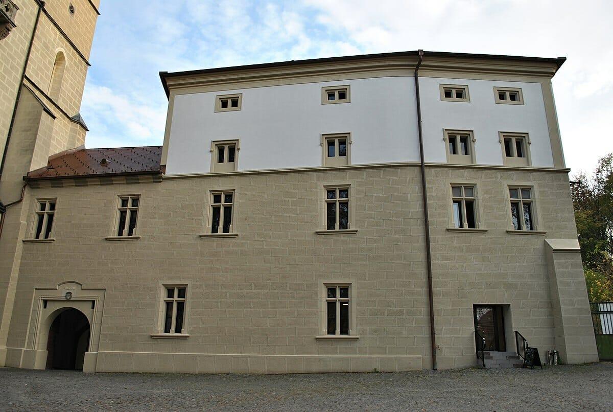 Severné krídlo kláštora po rekonštrukcii