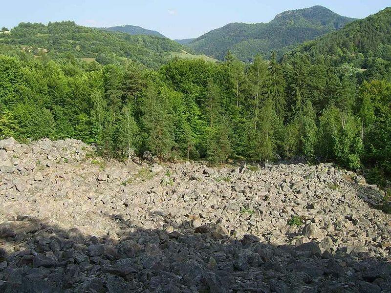 Kamenné more a Štiavnické vrchy