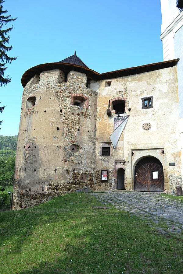 Starý zámok v Banskej Štiavnici – juhovýchodná bašta