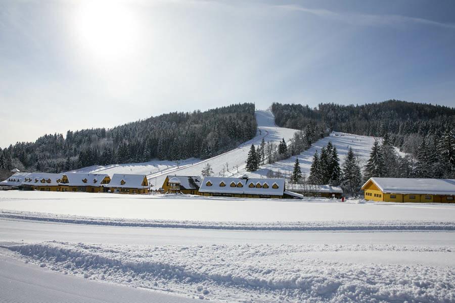 Ski Tále, pohľad na zjazdovky