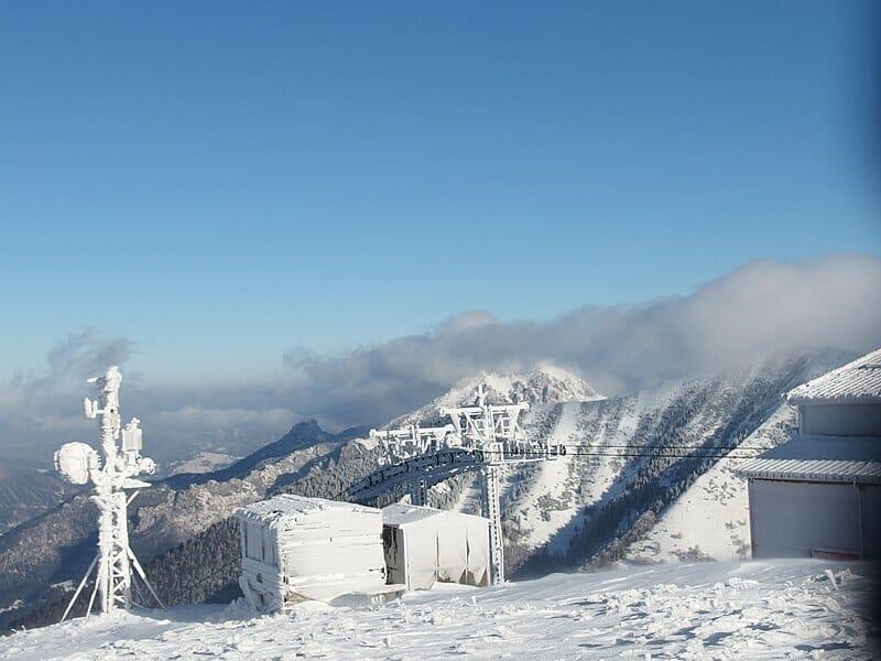 Zima na Snilovskom sedle