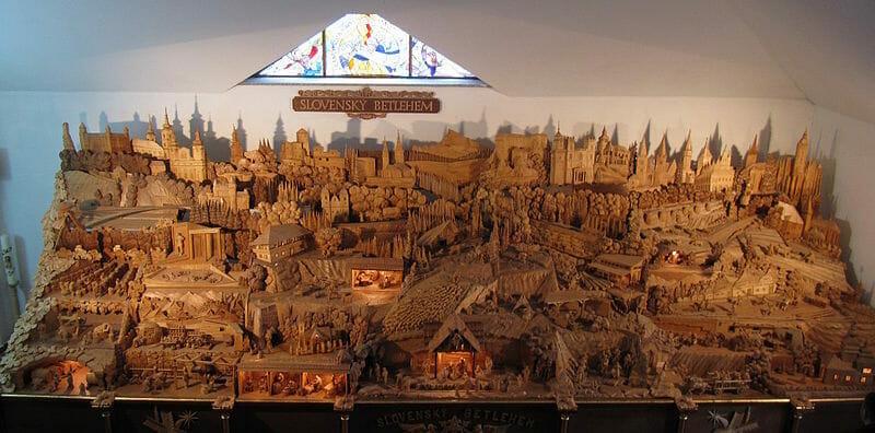 Celkový pohľad – Slovenský Betlehem