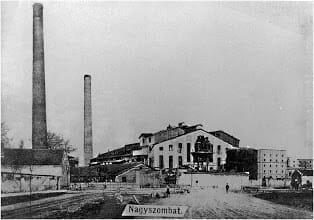 Trnavský cukrovar rok 1910