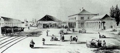 Koňská železnica Trnava