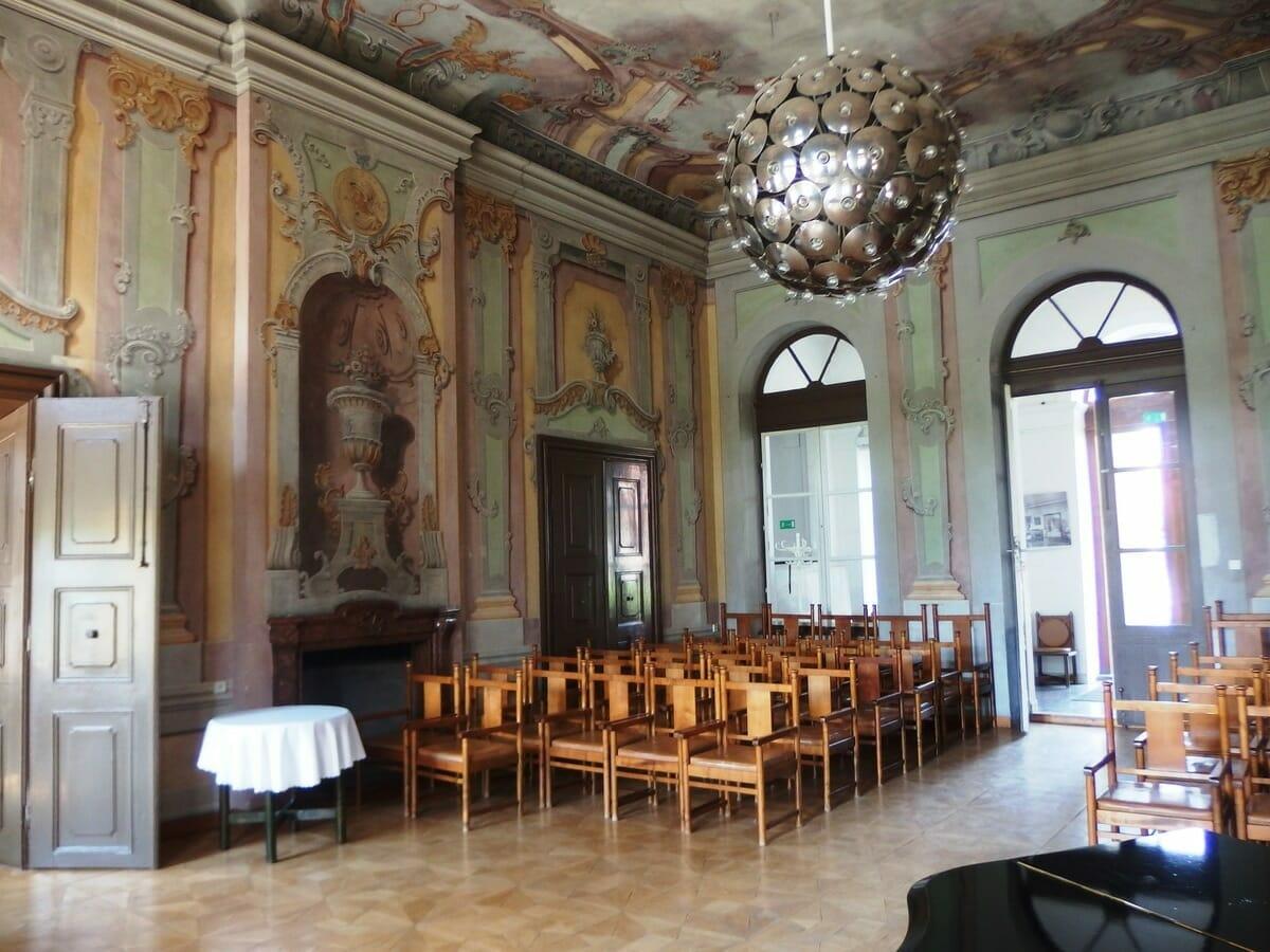 Fresková sála, kaštieľ Dolná Krupa