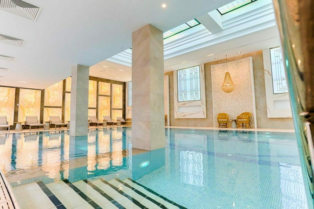 Vnútorný bazén, Thermia Palace