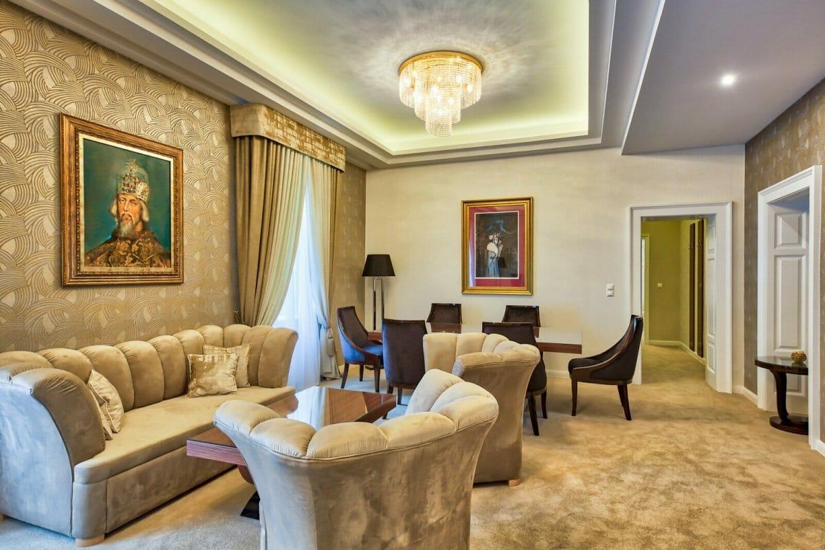 Royal Palace, Turčianske Teplice, apartmán Royal Zimund
