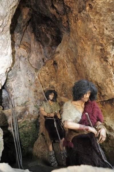 Človek neandertálsky v Múzeu Praveku