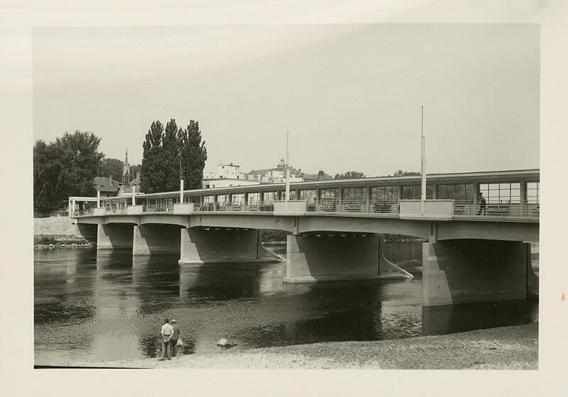 Kolonádový most v Piešťanoch, Ateliér Bruner - Dvořák, SNG, 1925 – 194