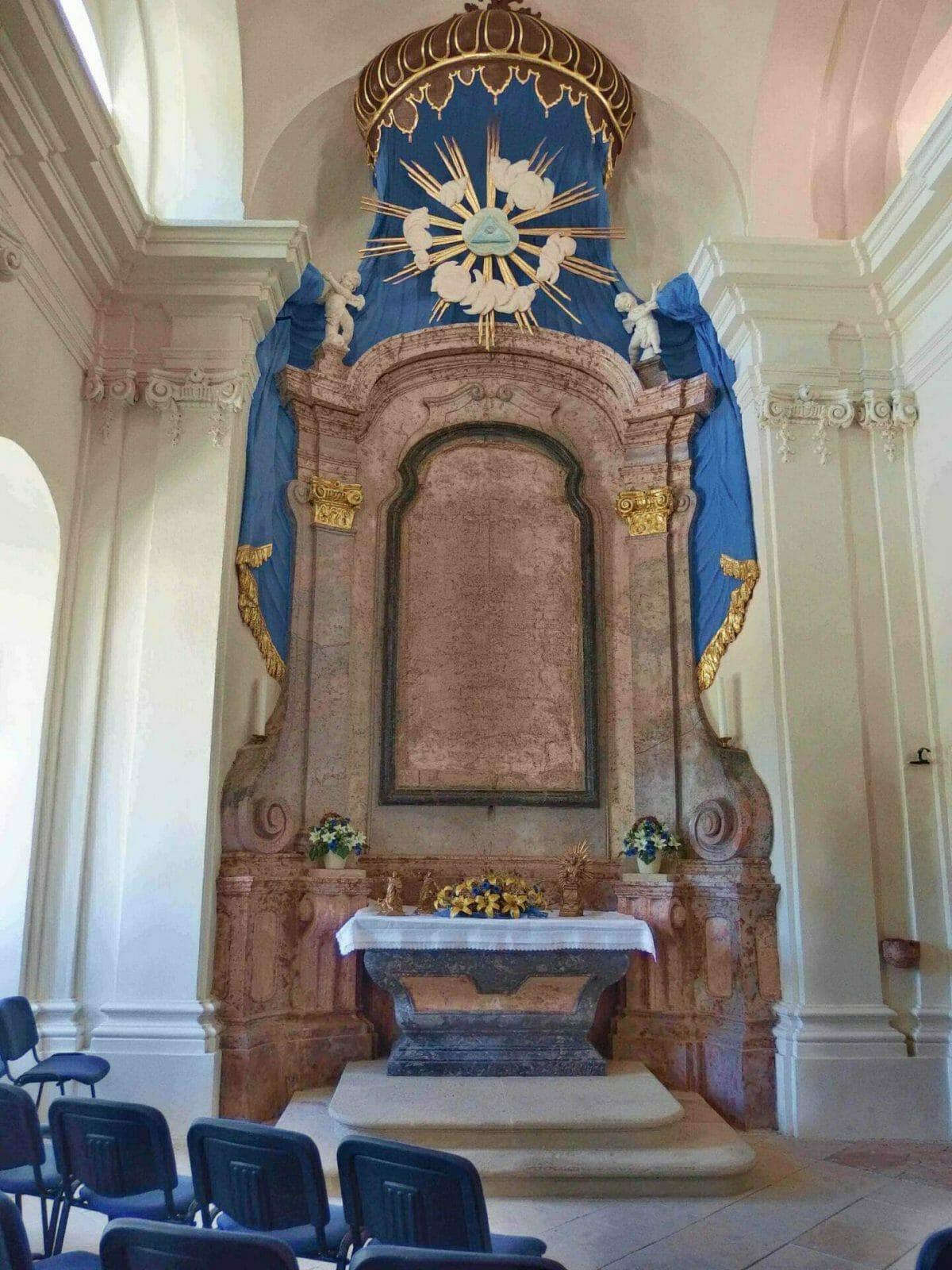 Kaplnka Ukrižovania z roku 1769