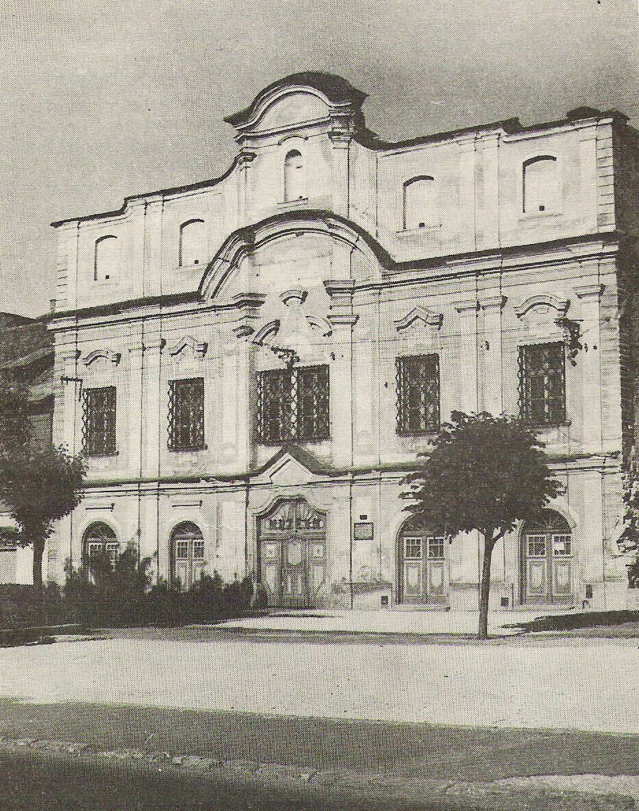 Historická fotografia Podjavorinského múzea