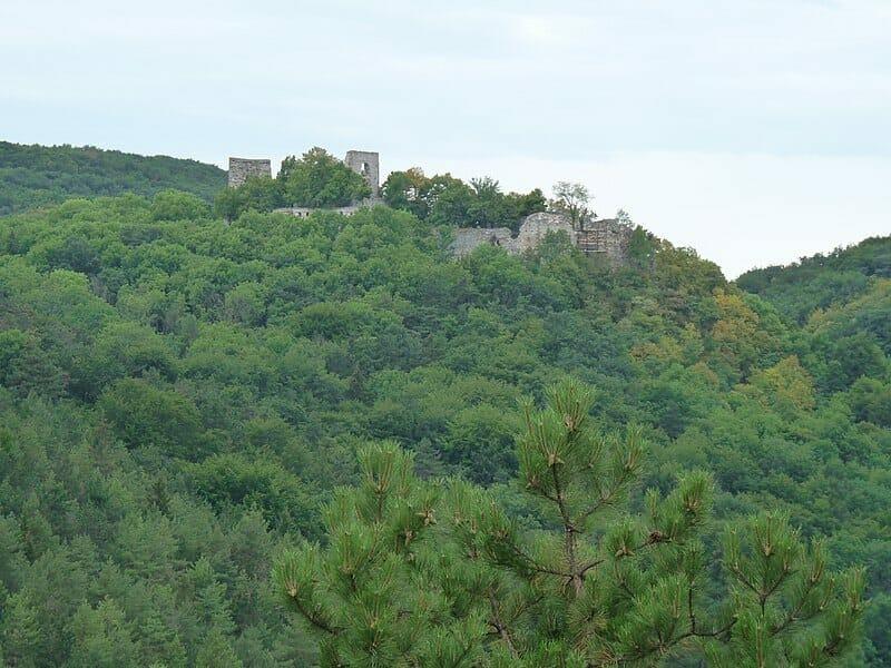 Ruiny hradu Dobrá Voda