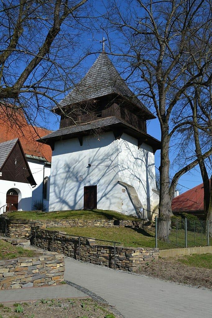 Zvonica pri kostole sv. Mikuláša v Sliači