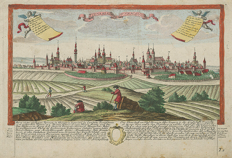 Trnava, Friedrich Bernhard Werner, GMB, 1750-1778