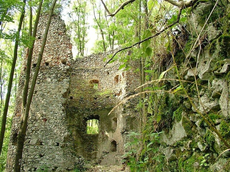 Zrúcanina dobrovodského hradu