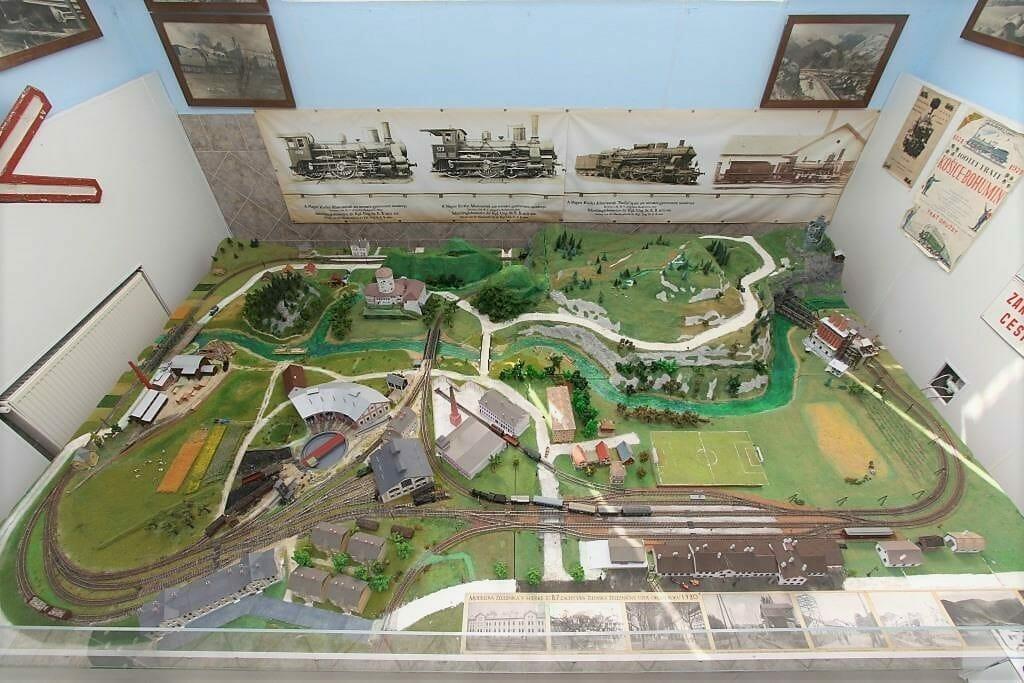 Model koľajiska – žilinský železničný uzola, mierka 1:87