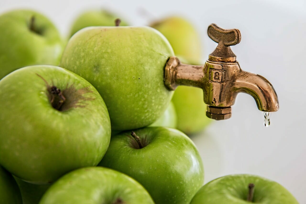 Jablko - ilustračný - imunita