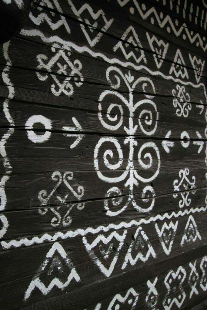 Maľba na čičmianskych domoch