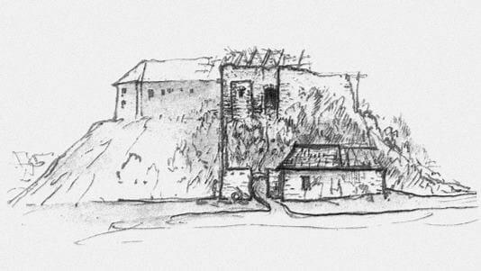 Kresba hradu